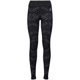 Odlo Natural + Kinship Warm Pants Women black melange